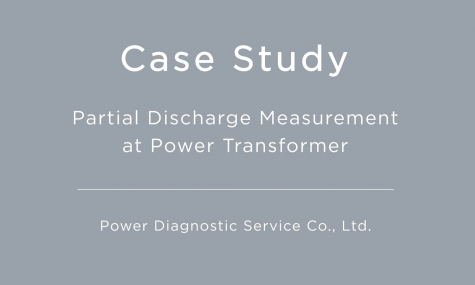 Partial Discharge Measurement at Power Transformer